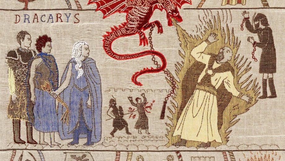 On Vous Montre Game Of Thrones Version Tapisserie De Bayeux