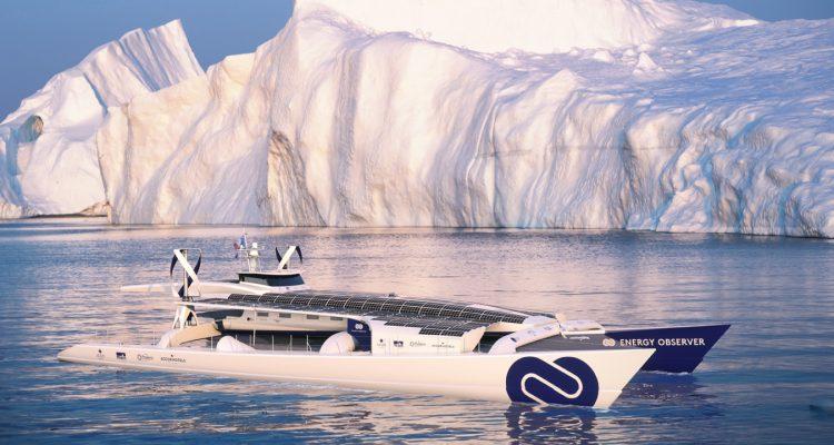 High Tech et écolo, ce bateau débute un tour du monde de six ans 33e161419f6