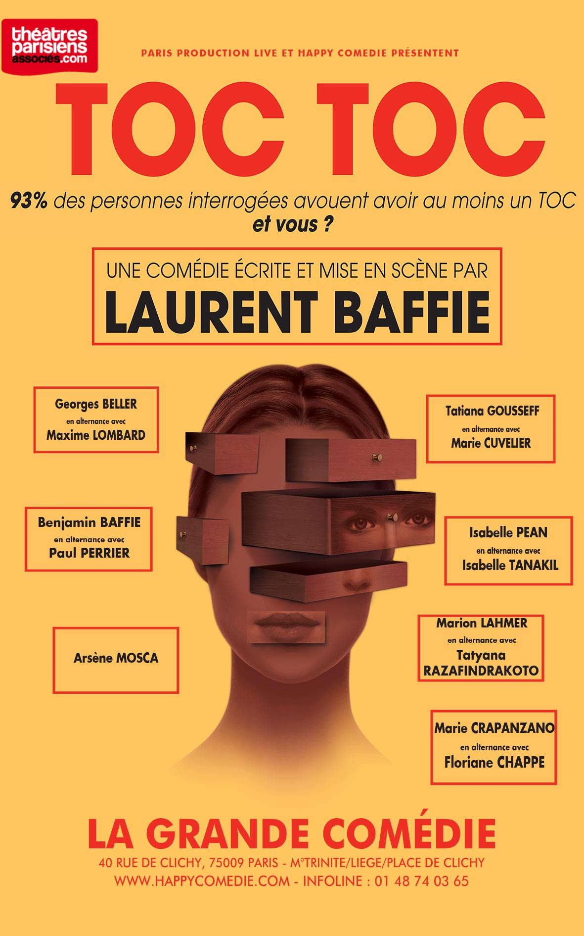 gratuitement toc toc laurent baffie