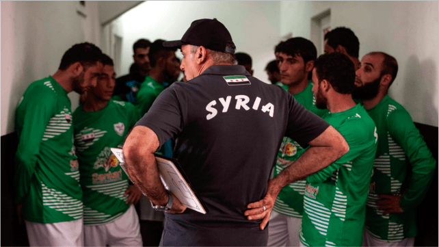 Equipe syrienne de football