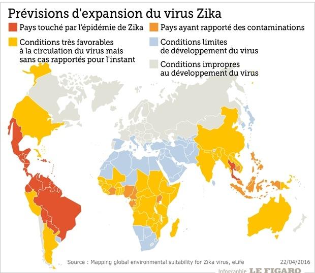 Carte Du Monde Zika 2017.Zika Carte Vl Media