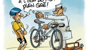 Cyclisme premier cas av r de dopage m canique en france - Image coureur humoristique ...