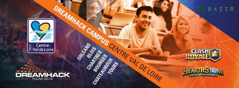 Affiche du DreamHack Campus