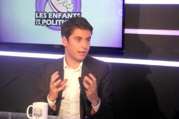 Gabriel Attal dans #LE2LP sur VL