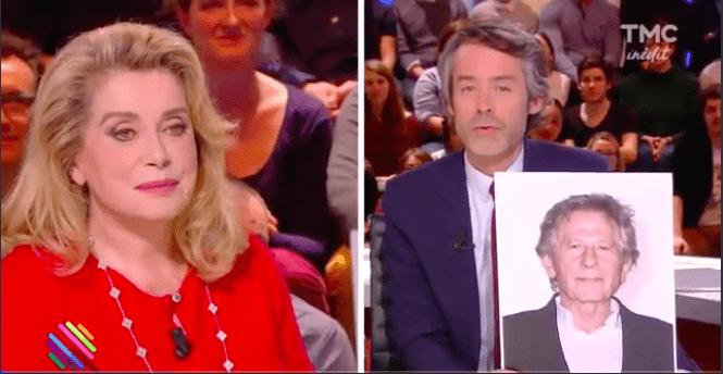 Ce jour làla grande dame du cinéma français avait réagit à la polémique quant à la nomination de Roman Polanski pour présider les Césars  Crédits: TF1