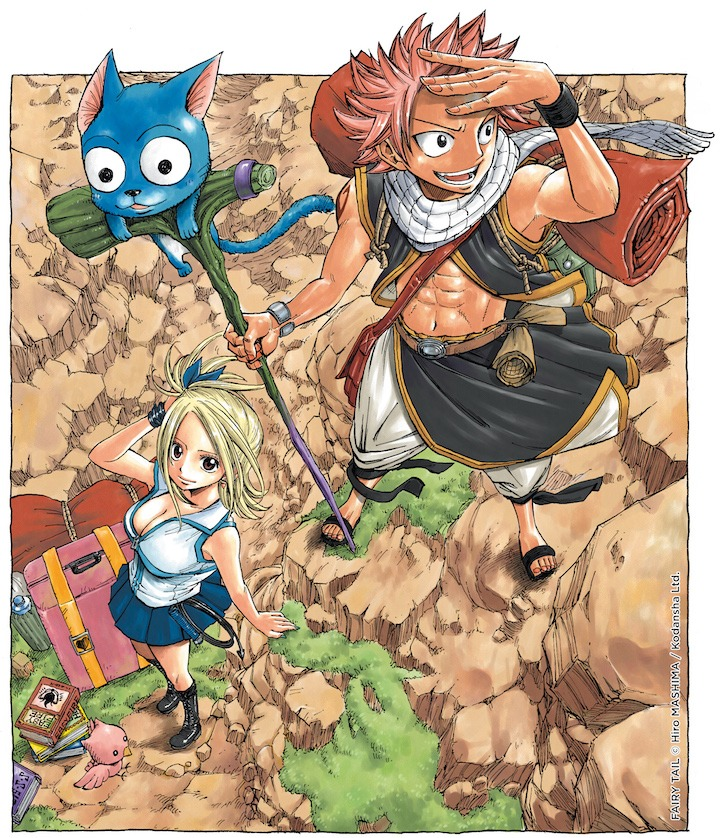 Angoulême : Hiro Mashima pour Fairy Tail