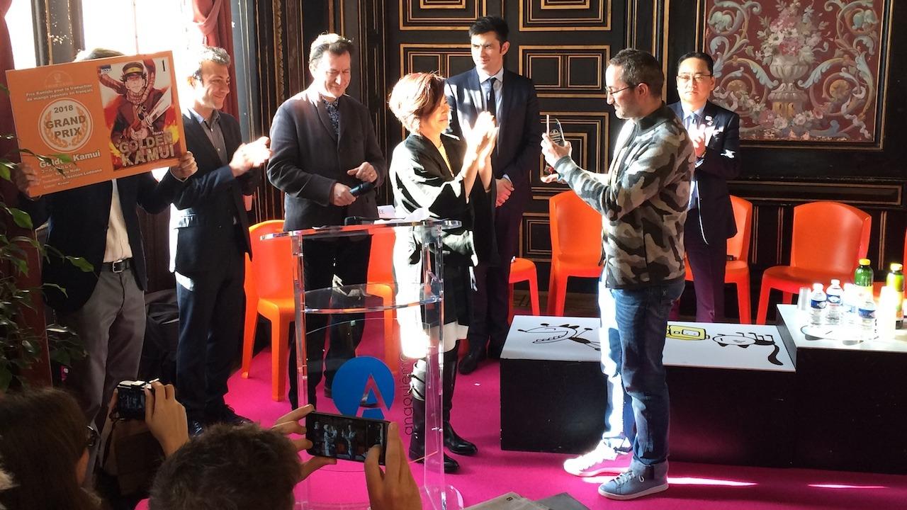 Angoulême : prix Konishi remis à Sébastien Ludmann
