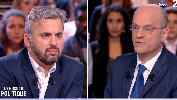 Un débat tendu entre Jean-Michel Blanquer et Alexis Corbière