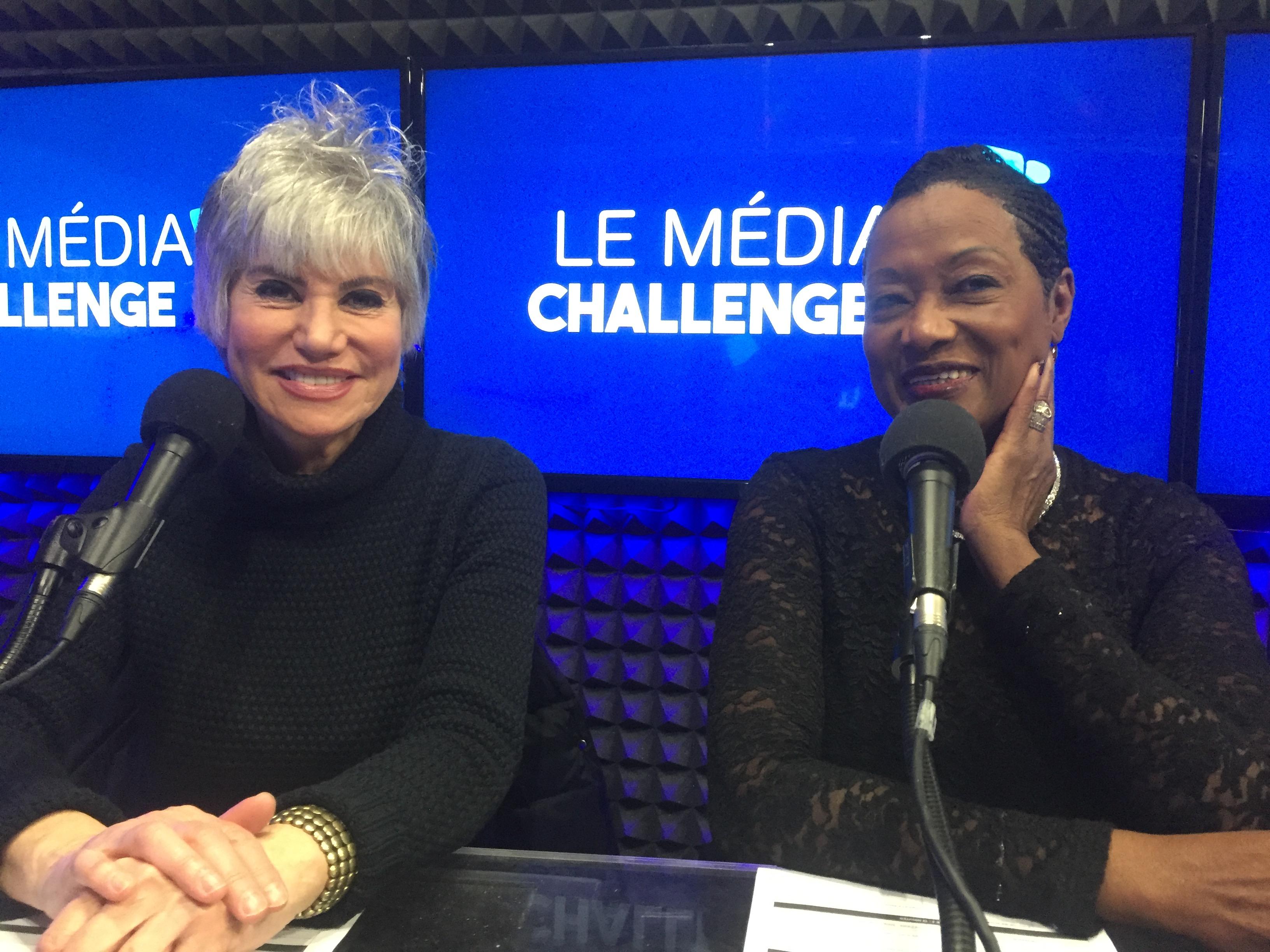 Evelyne Dress et Babette de Rozières.