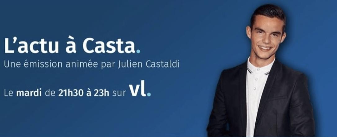 Julien Castaldi sur VL