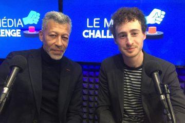 Rachid M'Barki et Pierre Leibovici