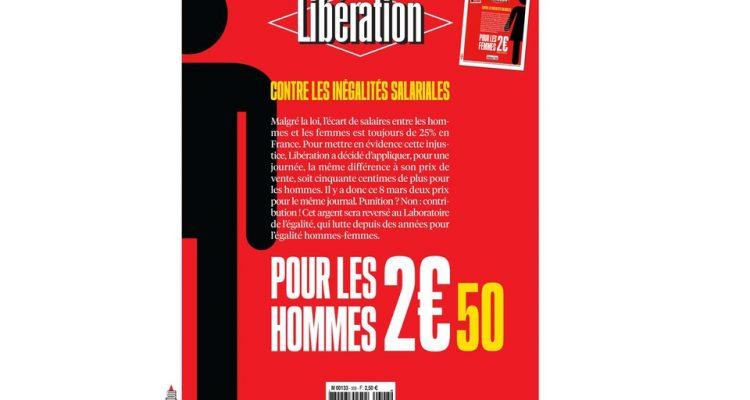 Libération coûtera plus cher pour les hommes le 8 mars