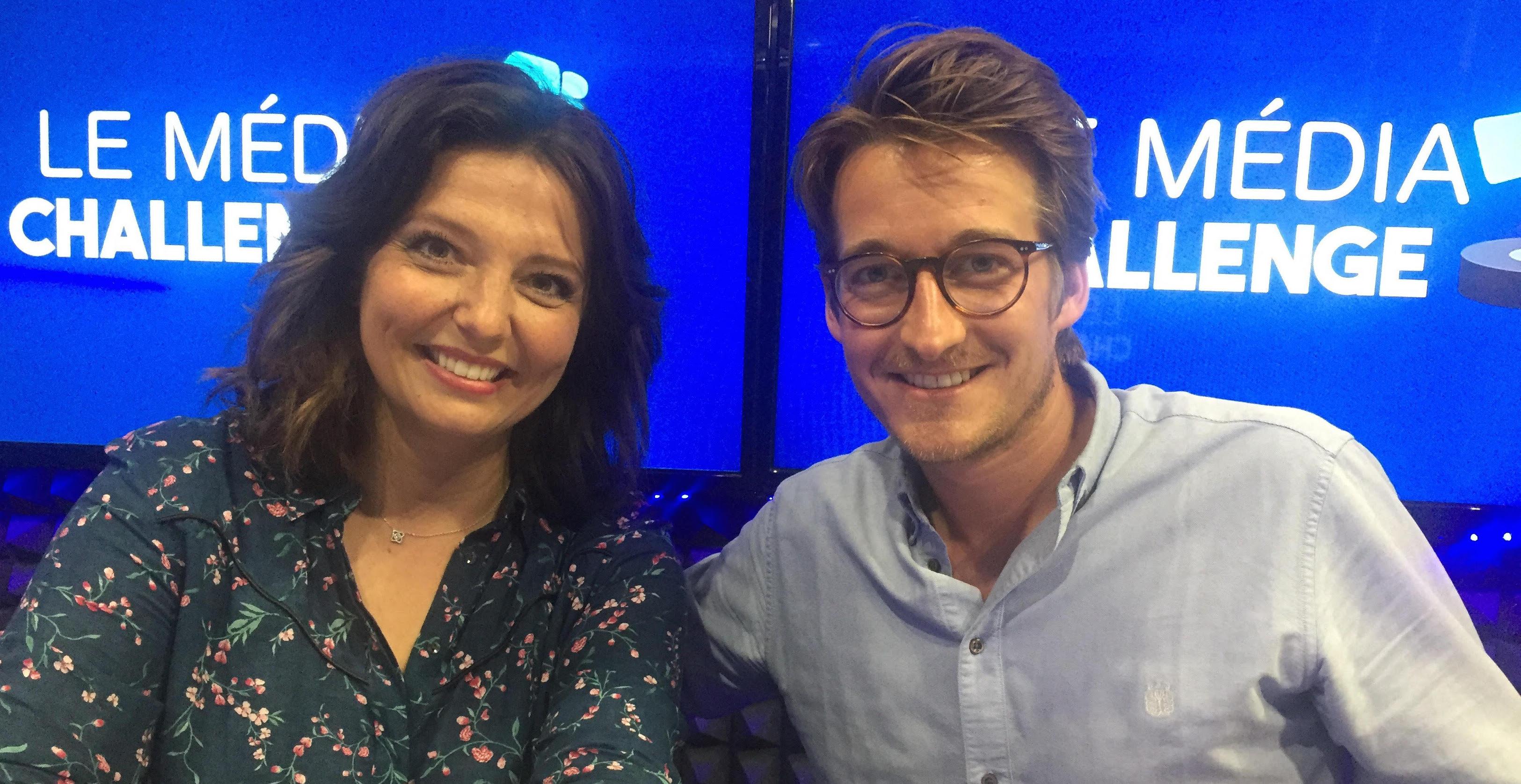 Carinne Teyssandier et Jérémy Charbonnel