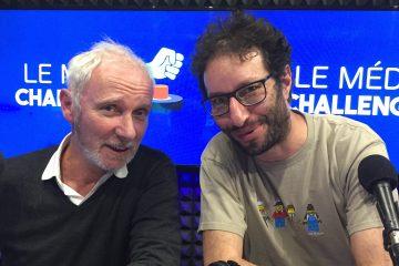 Manu Levy et Geoffroy Thiebaut