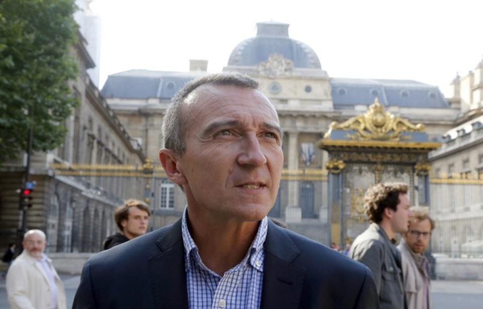 Me Laurent-Franck Lienard, le 21 juin 2012 à Paris. — PIERRE VERDY / AFP