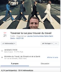 Emmanuel Macron chômage