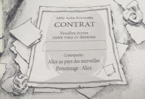 Le fameux contrat de Fairy Tale Battle Royale