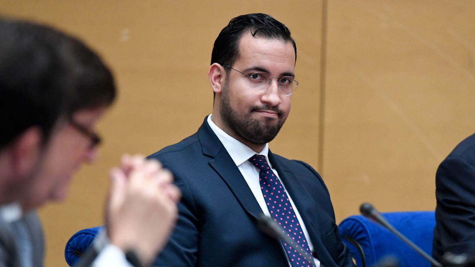 Alexandre Benalla, ex-chargé de mission de l'Elysée lors de son audition devant le Senat, à Paris, le 19 septembre 2018. afp.com/Bertrand GUAY