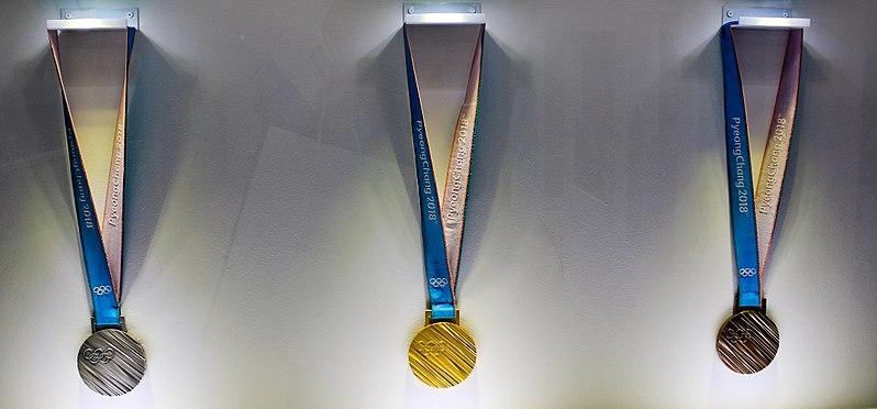 les 3 médailles olympiques
