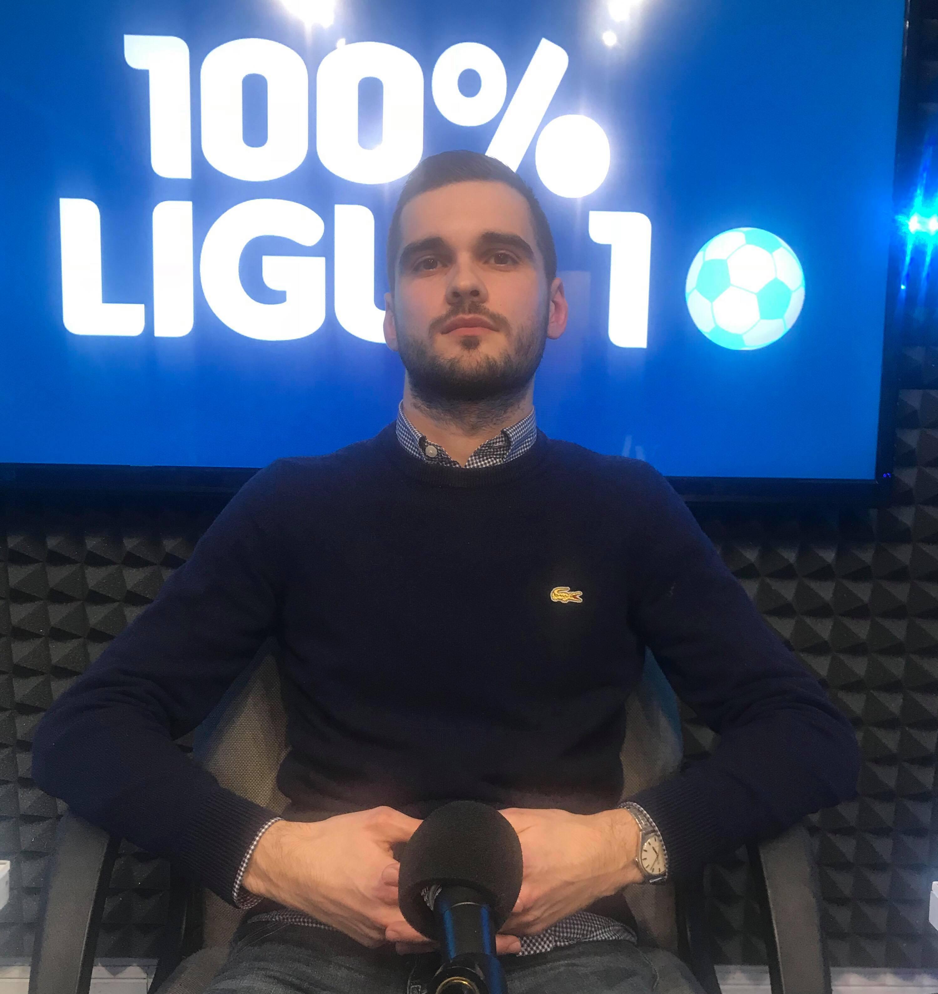 """Benoit Taix, co-auteur d'""""Ultra mode de vie"""" dans le 100% Ligue 1 sur VL"""