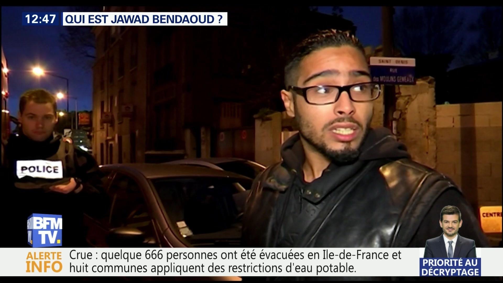Jawad Bendaoud au tibunal