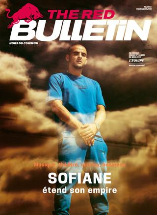 "Dans le magazine mensuel ""The Red Bulletin"" de ce Novembre, Sofiane accorde une interview."