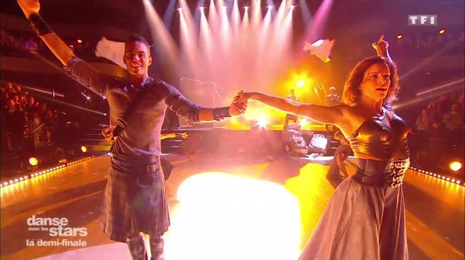 C'est définitif. Terence Telle et Fauve Hautot sont éliminés de la compétition de danse.