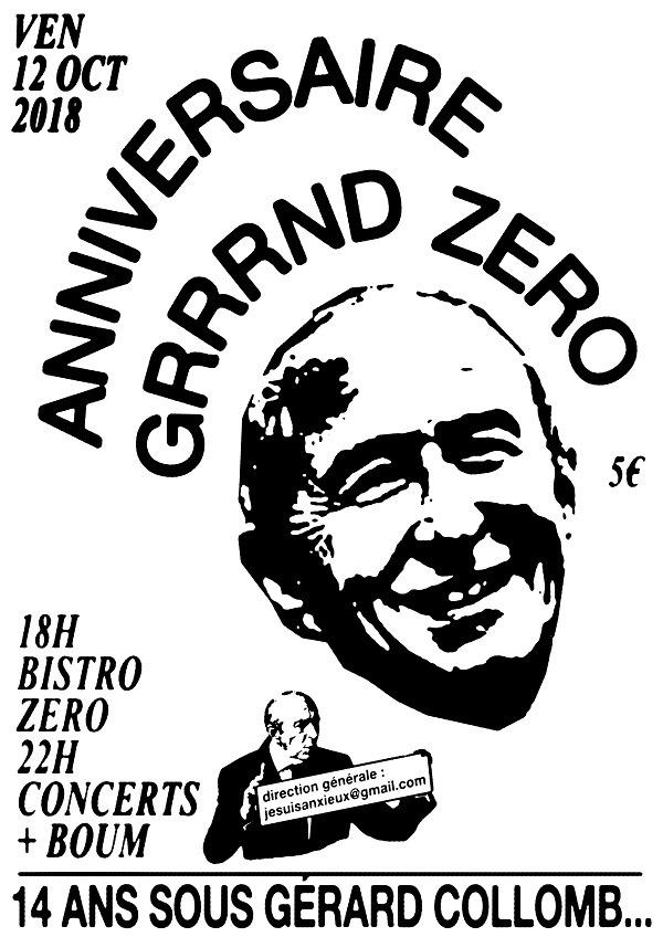 Affiche du Grrrnd Zero, Artiste inconnu (2018)