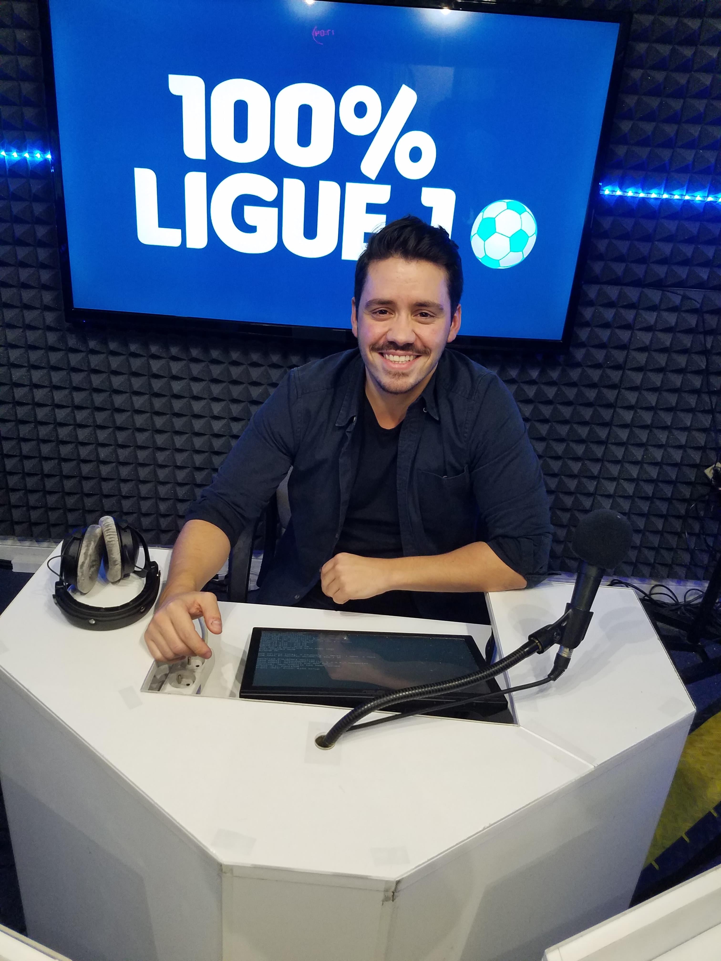 Gary De Jesus dans le 100% Ligue 1 sur VL