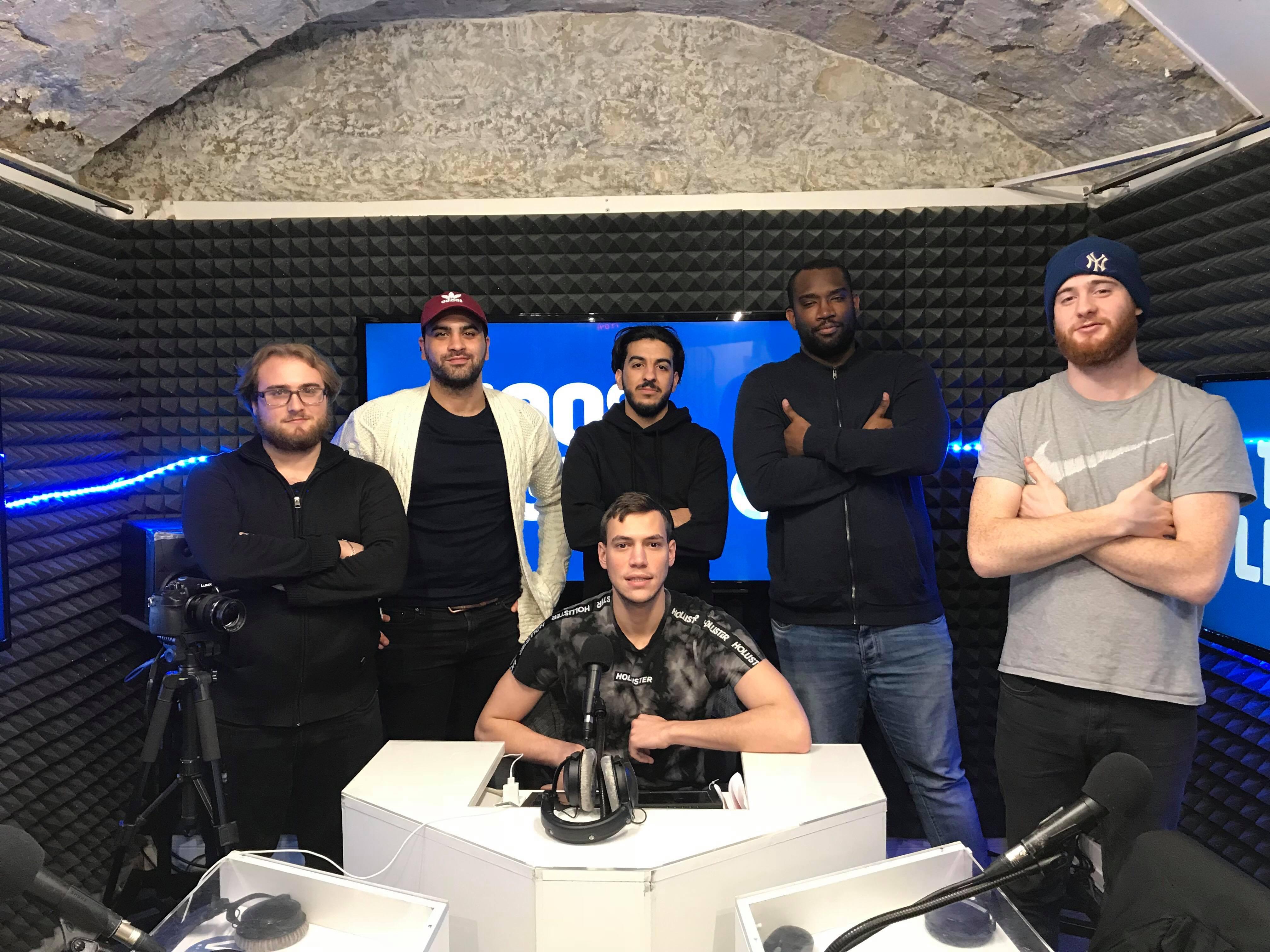 L'équipe du 100% Ligue 1 ce 12 janvier 2019