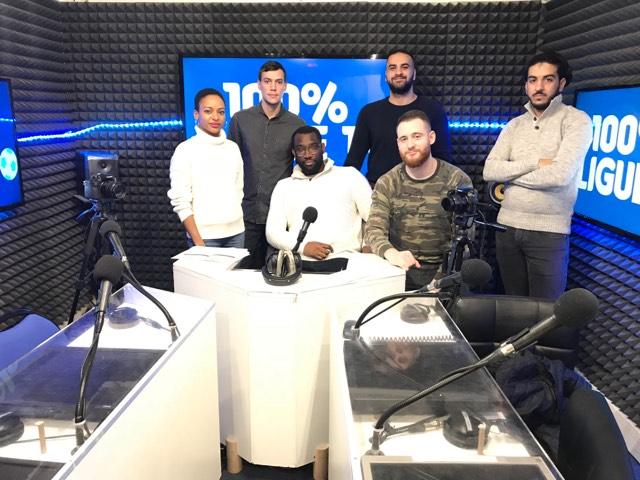 L'équipe du 100% Ligue 1 ce 26 janvier 2019