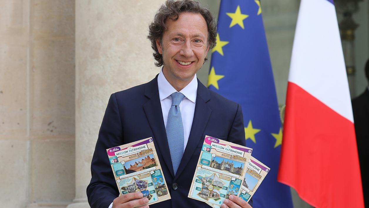 Stephane Bern, à réussi son pari en récoltant 172 millions d'euros !