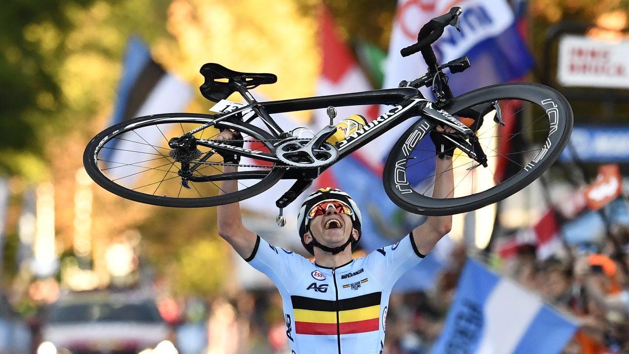 Remco Evenepoel championnats du monde course en ligne 2018