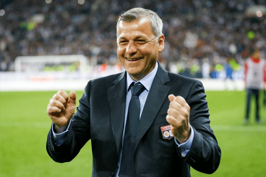 L'entraineur de l'OL Bruno Genesio