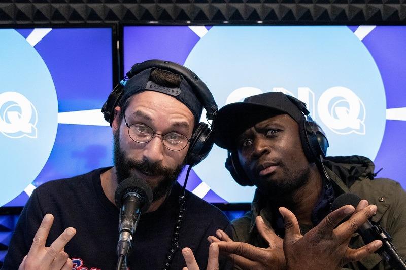 Sam Blaxter et Soun Dembele dans Le Grand N'importe Quoi de Martin d'Aboville sur VL média