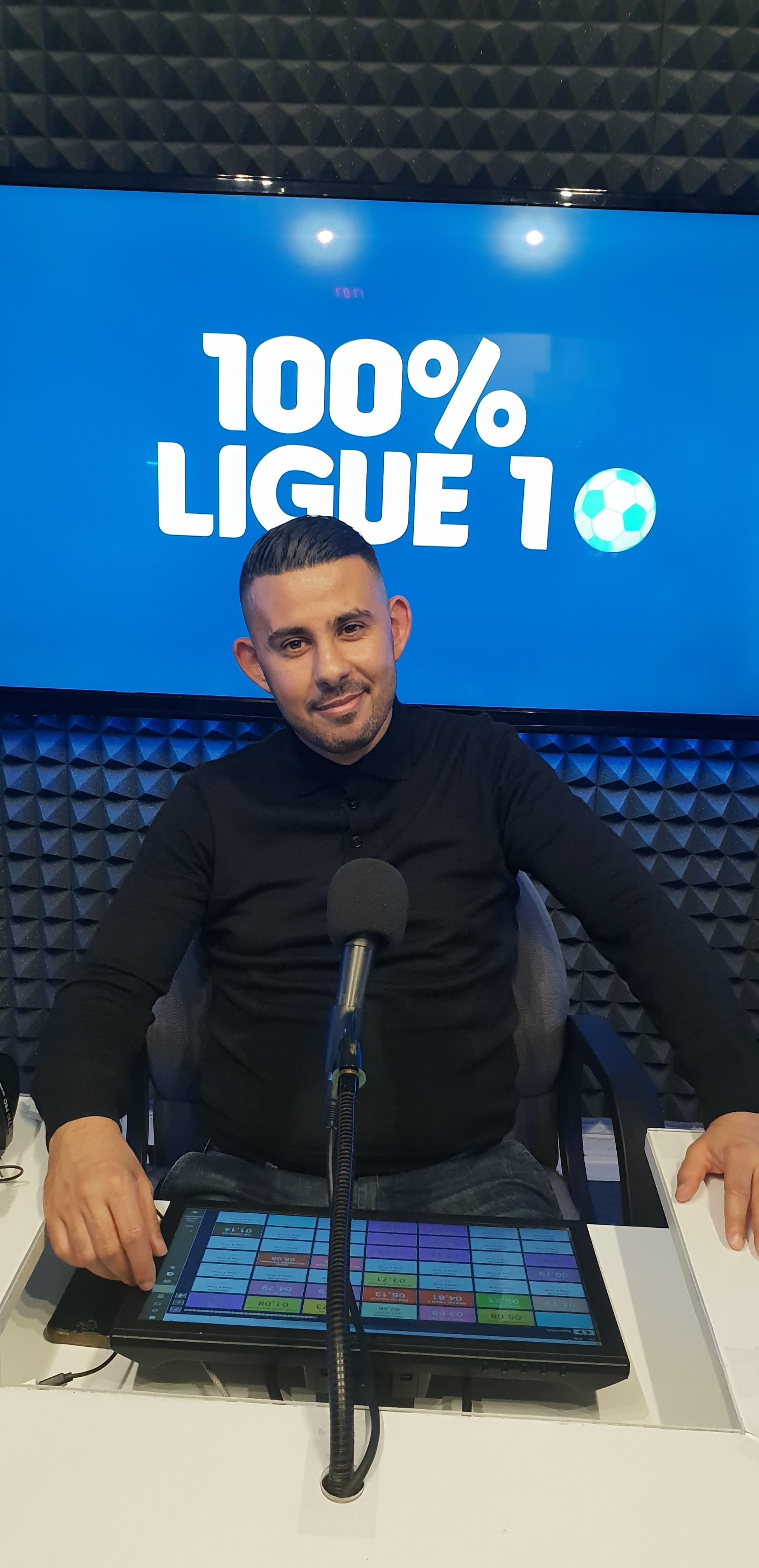 Farid Baadj était l'invité du 100% Ligue 1 ce 9 mars