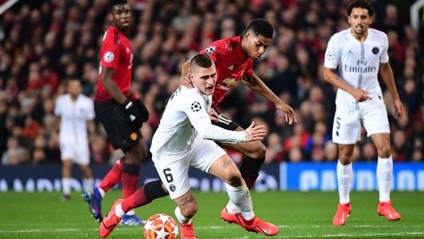 alt= » PSG-Manchester-United, en 8e de final de Ligue des Champions«
