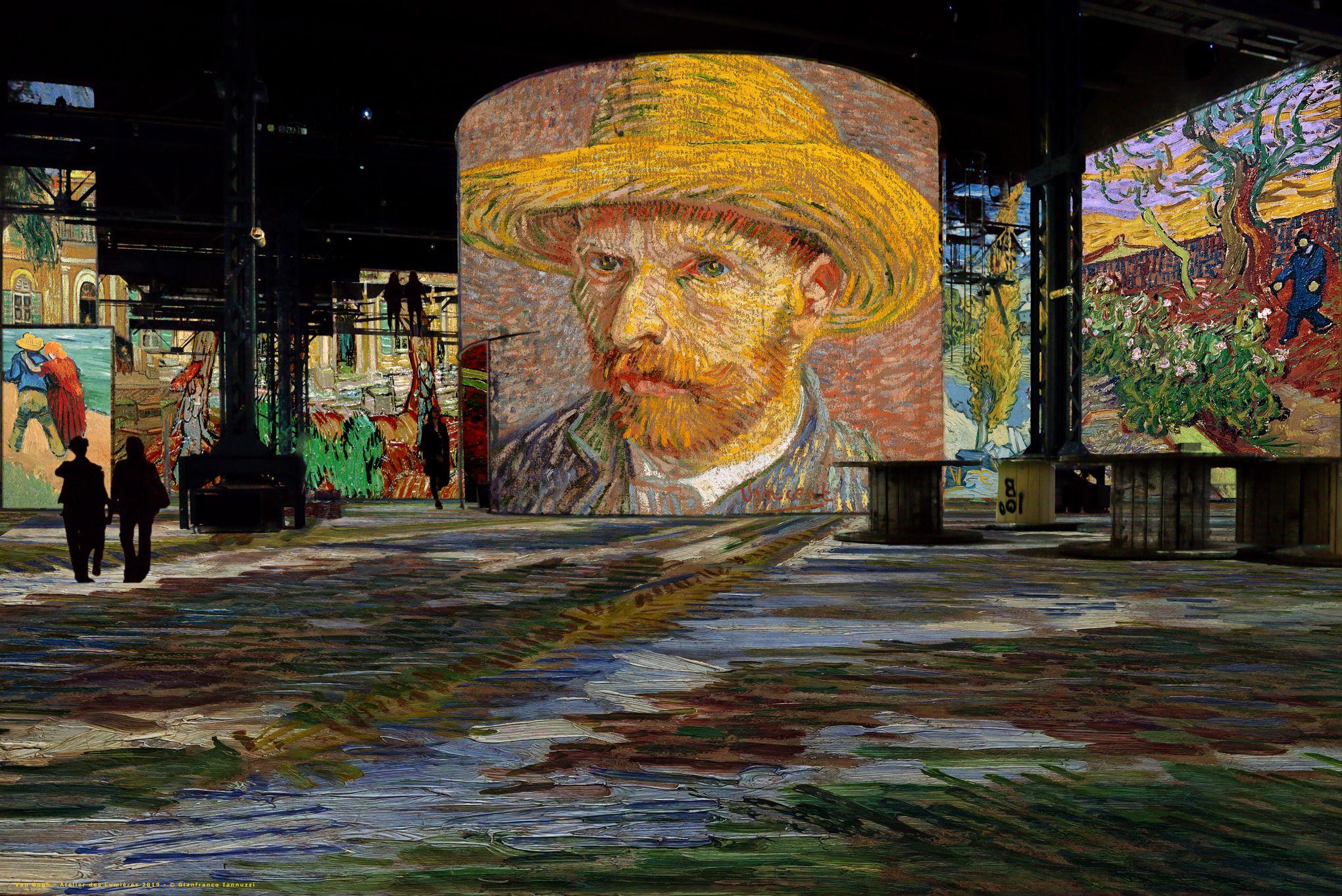 Van Gogh L'Atelier Lumières