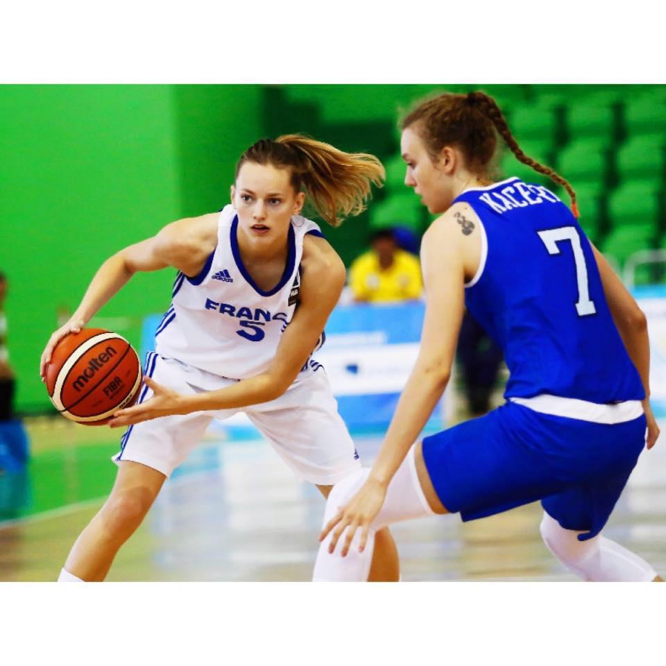 f64483a0ed9fb Le monde du Basket ne tarie pas d'éloges pour Marine Johannès. C'est à Lyon  que l'arrière de 24 ans a décidé de poursuivre sa carrière.