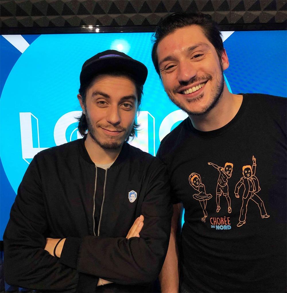 Jordi et Martin de Canal + dans Le Grand N'importe Quoi de Martin d'Aboville sur VL