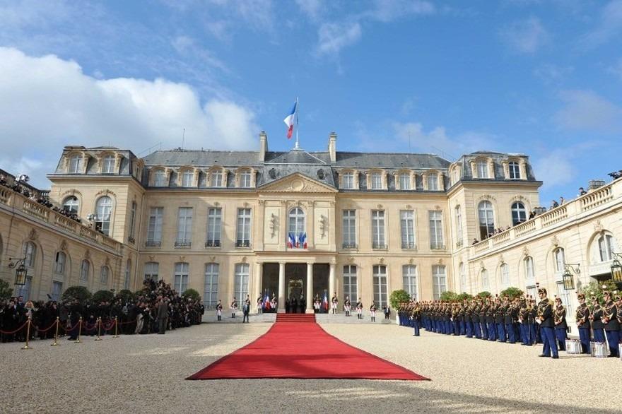 Photo du palais de l'Élisée