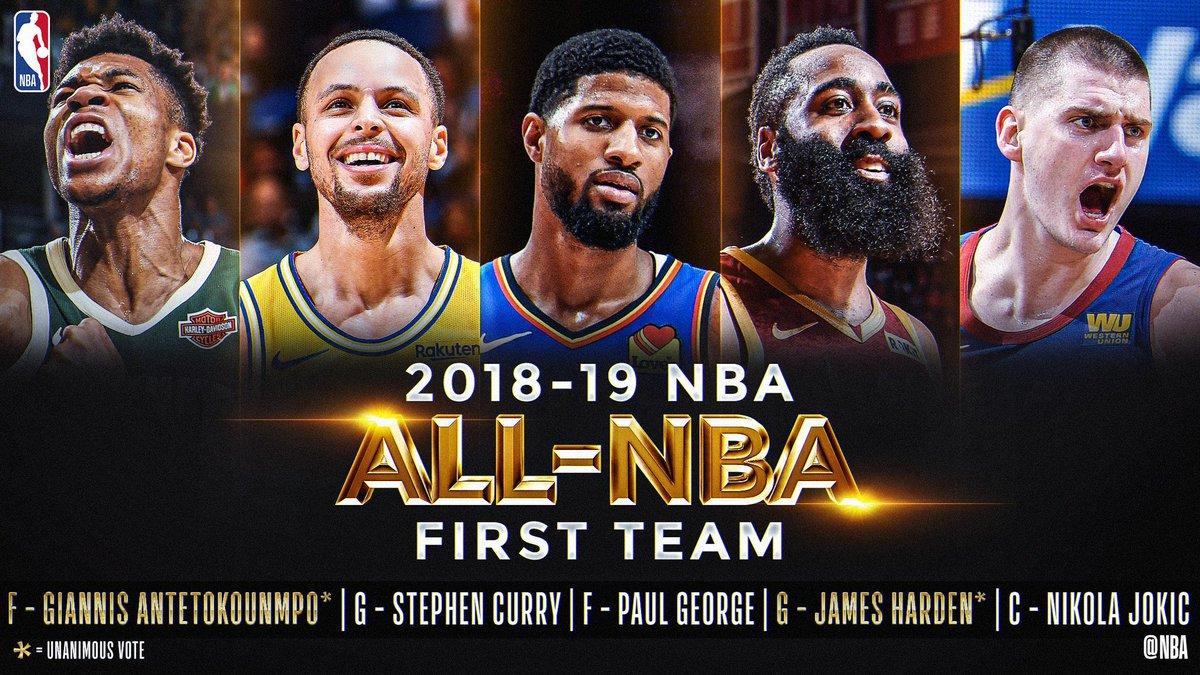 photos officielles b6660 92fdd Les All NBA Team enfin dévoilées sans grande surprise