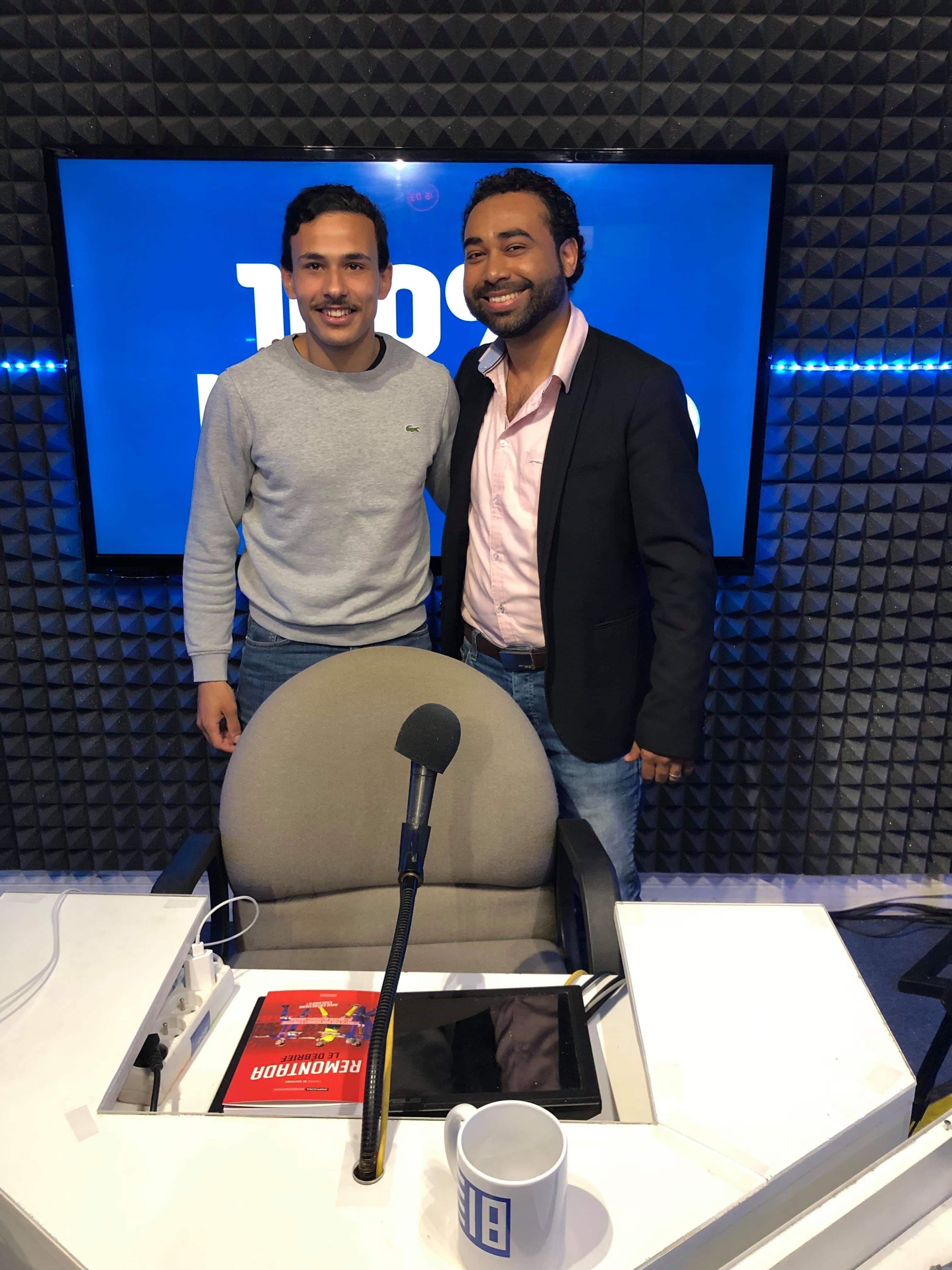 Bilal El Hajjam et Fabrice de Cheverny invités du 100% Ligue 1