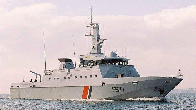 Photo d'un navire de la marine de France