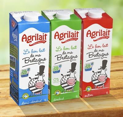 Code couleur Brique de lait