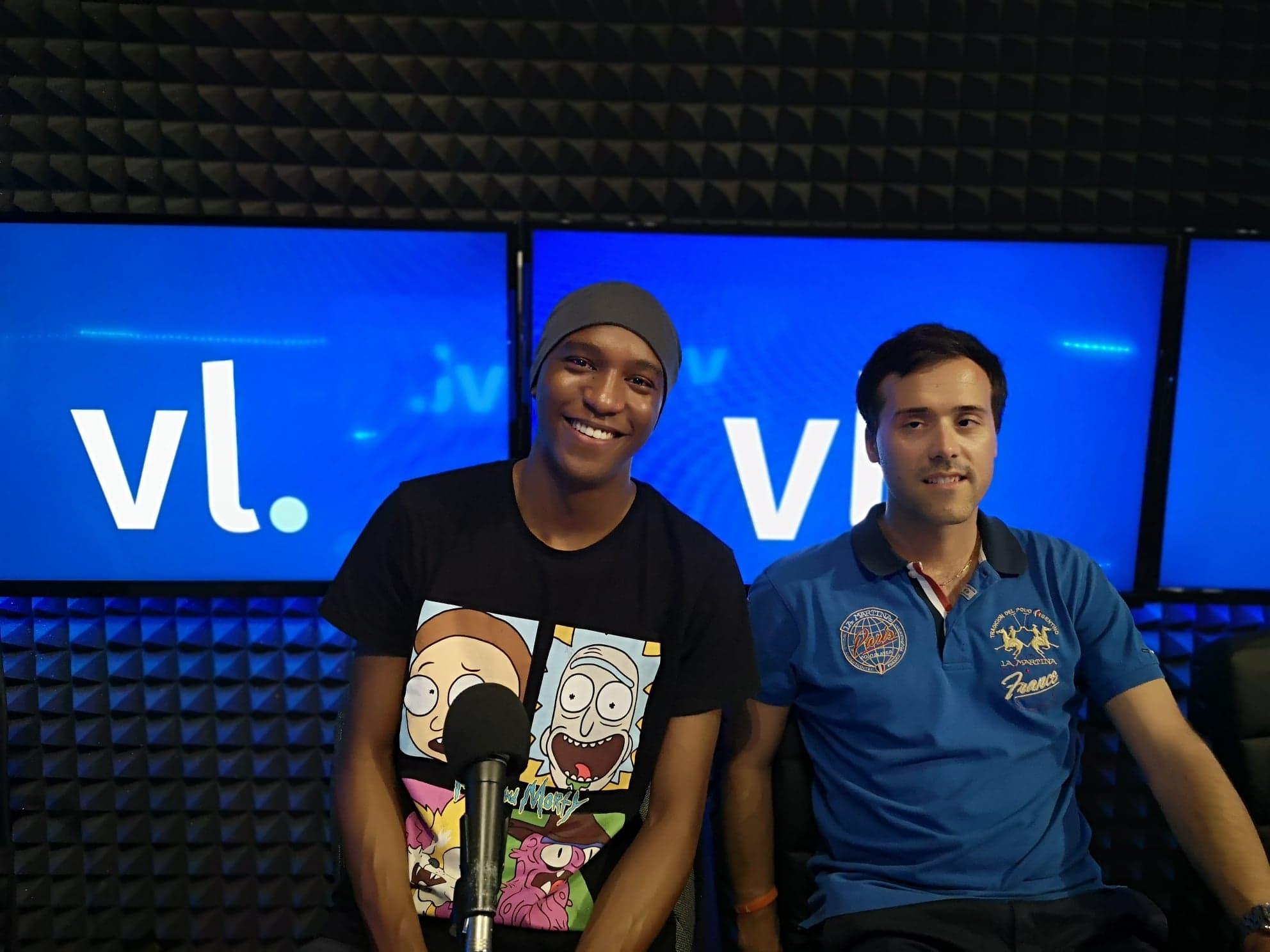 Terry Ltam Benjamin Louis invités du 100% Ligue 1