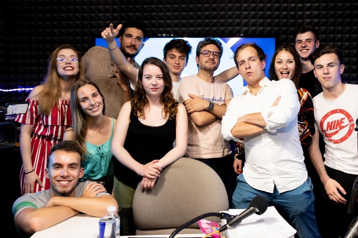 L'équipe du Grand N'importe Quoi et Verino sur VL Media