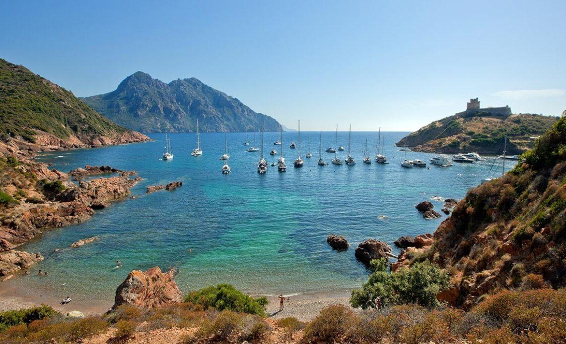 Photo d'une plage de Corse