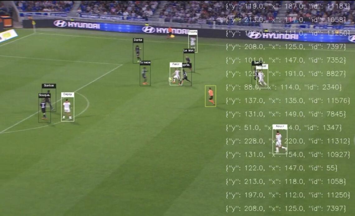 Match de foot avec les calculs d'un algorithme