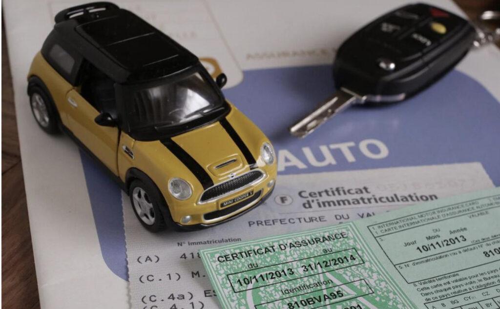 Certificat de contrat d'assurance